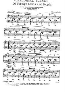 Complete set: Para Piano by Robert Schumann