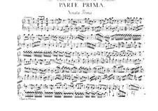 Sonata for Violin and Basso Continuo No.1, Op.1: Sonata for Violin and Basso Continuo No.1 by Francesco Maria Veracini