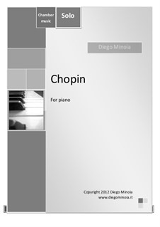 Chopin: Piano solo by Diego Minoia