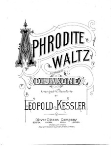 Aphrodite Waltz, for Piano: Aphrodite Waltz, for Piano by D. Jaxone