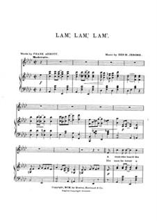 Lam', Lam', Lam': Lam', Lam', Lam' by Benjamin M. Jerome