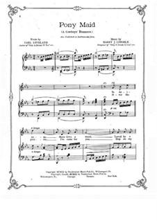 Pony Maid: Pony Maid by Harry J. Lincoln
