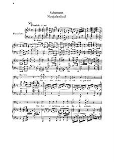 Neujahrslied, Op.144: Singpartitur by Robert Schumann