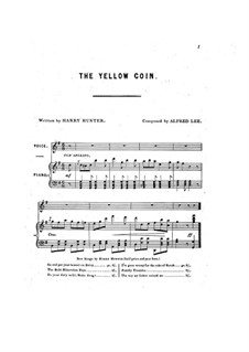 The Yellow Coin: The Yellow Coin by Alfred Lee