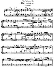 Fragments: Acto I, para piano by Pyotr Tchaikovsky