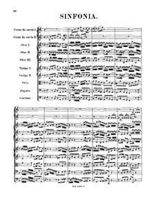 Sinfonia in F Major, BWV 1046a: Sinfonia in F Major by Johann Sebastian Bach