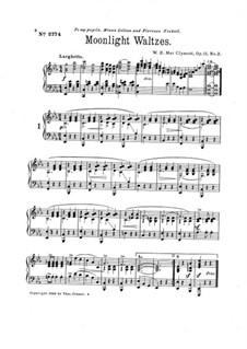 Moonlight Waltzes, Op.11 No.2: Moonlight Waltzes by W. E. MacClymont