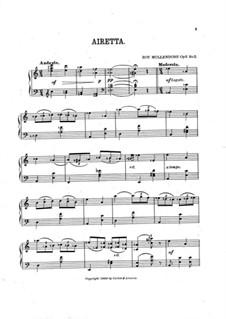 Four Musical Gems, Op.3: No.2 Airetta by Roy Mullendore