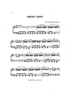Four Musical Gems, Op.3: No.3 Goblin's Dance by Roy Mullendore