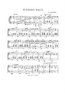 Put-in-Bay Waltz: Put-in-Bay Waltz by W. C. Mannfeld