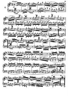 Six Little Preludes, BWV 933-938: No.6, for piano by Johann Sebastian Bach