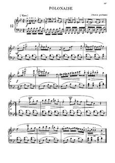Polonaise in B Flat Major, B.3 KK IVa/1: Para Piano by Frédéric Chopin