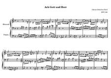Chorale Preludes V (Kirnberger Chorale Preludes): Ach Gott und Herr, BWV 693 by Johann Sebastian Bach