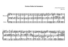 Chorale Preludes, Miscellaneous: Gott, durch deine Güte, BWV 724 by Johann Sebastian Bach
