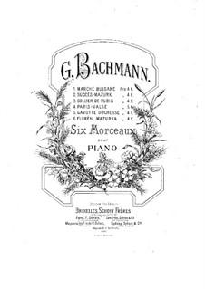 Six Pieces. No.5 Gavotte Duchesse: Six Pieces. No.5 Gavotte Duchesse by Franz Behr