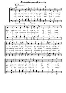 Jésus est notre ami suprême: Jésus est notre ami suprême by Richard-William Beaty