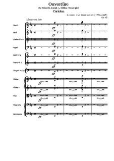 Ouvertüre Coriolan (Coriolanus Overture), Op.62: Partitura completa by Ludwig van Beethoven
