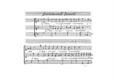 Sentimenti devoti espressi con la musica di due, e tre voci, Op.6: No.1 O vos insipentes mortales by Giovanni Legrenzi