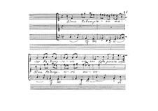 Sentimenti devoti espressi con la musica di due, e tre voci, Op.6: No.3 Alma redemptorius mater by Giovanni Legrenzi