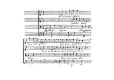 Sentimenti devoti espressi con la musica di due, e tre voci, Op.6: No.10 Gaudeat terra by Giovanni Legrenzi