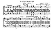 Soldier's Farewell: em E flat Maior by Johanna Kinkel