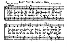 Softly Now the Light of Day: Softly Now the Light of Day by Carl Maria von Weber