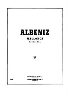 Mallorca, Op.202: Para Piano by Isaac Albéniz
