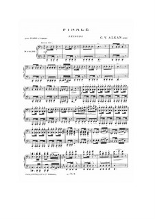 Finale (March) for Piano Four Hands: Finale (March) for Piano Four Hands by Charles-Valentin Alkan