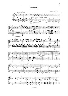 A Night in Venice: Partitura Piano-vocal by Johann Strauss (Sohn)