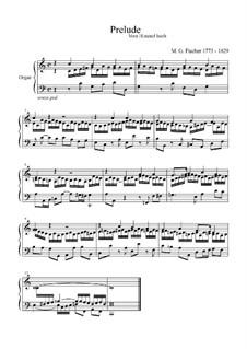 Prelude 'Vom Himmel hoch' in C Major: Prelude 'Vom Himmel hoch' in C Major by Michael Gotthard Fischer