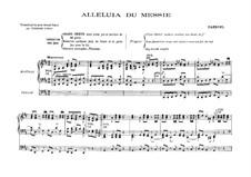 No.44 Hallelujah: para orgãos by Georg Friedrich Händel