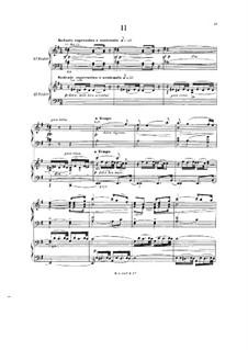 Symphony in C Major: Movimento II, para dois pianos de quatro mãos by Paul Dukas