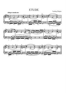 Etude in G Major: Etude in G Major by Ludvig Schytte
