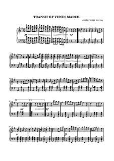 Transit of Venus March: Para Piano by John Philip Sousa