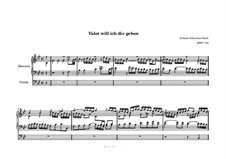 Chorale Preludes, Miscellaneous: Valet will ich dir geben (I Give to Thee Farewell), BWV 735 by Johann Sebastian Bach