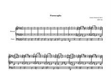 Passacaglia and Fugue in C Minor, BWV 582: para orgãos by Johann Sebastian Bach