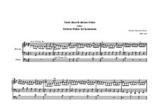 Gott, durch deine Güte, BWV 600: Gott, durch deine Güte by Johann Sebastian Bach