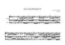 Lob sei dem allmächtigen Gott, BWV 602: Lob sei dem allmächtigen Gott by Johann Sebastian Bach