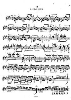 Twenty-Five Etudes, Op.38: Etudes No.14-16 by Napoléon Coste