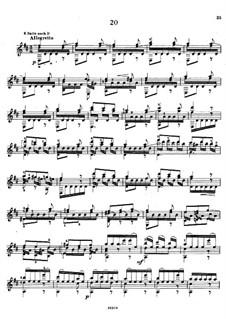 Twenty-Five Etudes, Op.38: Estudo No.20 by Napoléon Coste