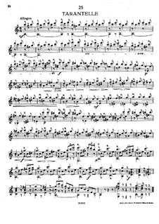 Twenty-Five Etudes, Op.38: estudo No.22 by Napoléon Coste