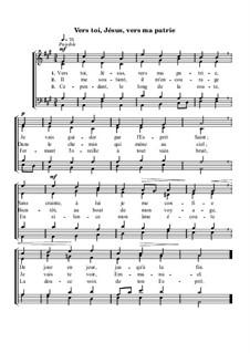 Vers toi, Jésus ma patrie: Vers toi, Jésus ma patrie by Georg Friedrich Händel
