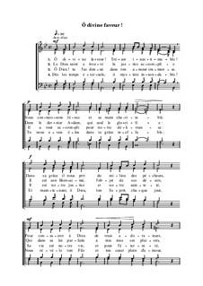 Ô divine faveur: Ô divine faveur by Henri Abraham Caesar Malan