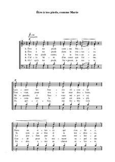 Être à tes pieds, comme Marie: Être à tes pieds, comme Marie by Henri Abraham Caesar Malan