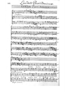 Laudate pueri Dominum: Laudate pueri Dominum by François Couperin