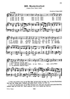 Musketierlied: Musketierlied by Friedrich Silcher