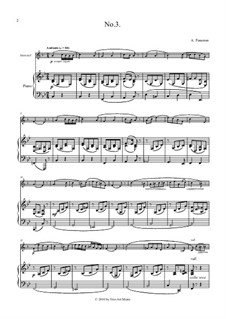 Cantilena No.3 for horn and piano: Cantilena No.3 for horn and piano by Auguste-Matthieu Panseron