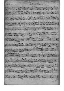 Trio Sonata for Violin, Flute and Basso Continuo in C Minor, TWV 42:c1: Partes by Georg Philipp Telemann