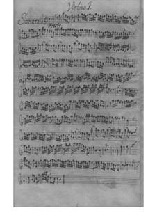 Trio Sonata for Two Violins and Basso Continuo in C Major, TWV 42:C3: Trio Sonata for Two Violins and Basso Continuo in C Major by Georg Philipp Telemann