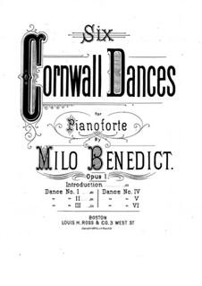 Six Cornwall Dances, Op.1: eletronica No 1 by Milo Ellsworth Benedict